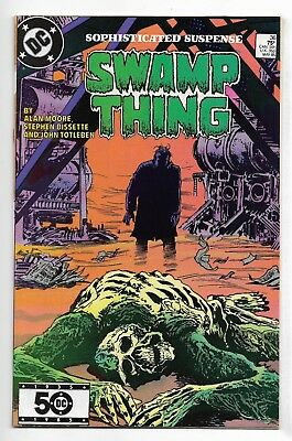Swamp Thing 1985 #36 Fine/Very Fine Alan Moore