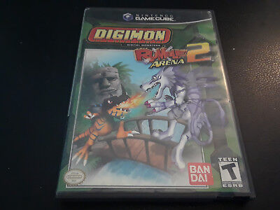 Digimon rumble arena 2 gamecube cd great condition but no manual tested