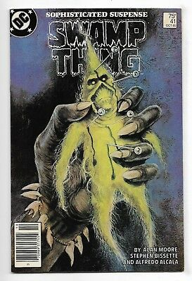 Swamp Thing 1985 #41 Fine/Very Fine Alan Moore