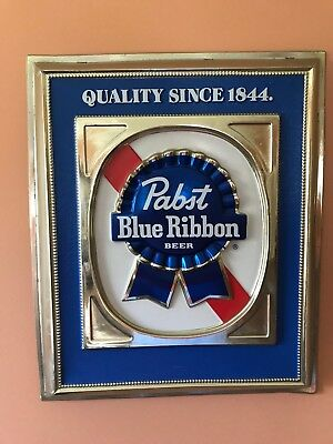 """Pabst Blue Ribbon Beer Sign 16""""x19"""""""