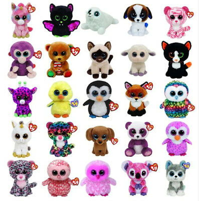 Peluches Type Beanies Boos Doudou Gros Yeux Cute Peluche Nounours Chat