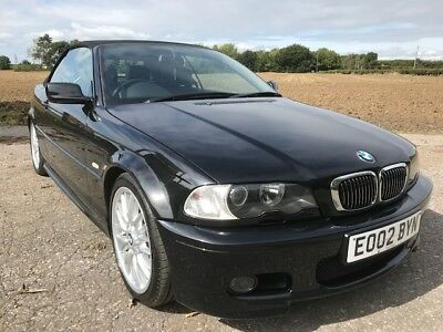 BMW 3 Series 325CI M-Sport Convertible 64000 miles with full documented history