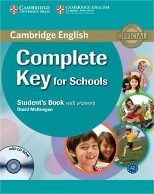 Complete Key for schools Student's book with answers 9780521124713