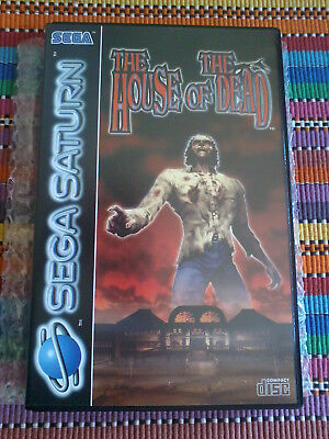 House of the Dead : SEGA Saturn PAL : boxed : komplett : excellent condition
