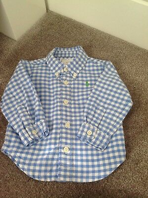 Ralph Lauren Baby Boys Checked Shirt 3 Months