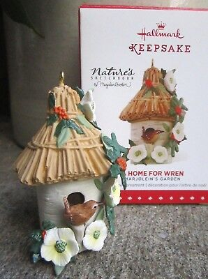 Hallmark Keepsake Marjolein Bastin Ornament  Home For Wren  ca 2015