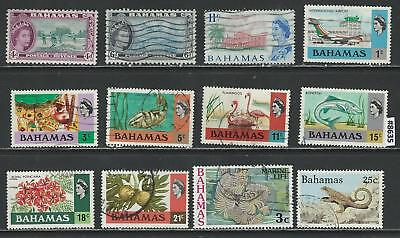 #8635 BAHAMAS Lot of early Stamps Used & Mint Combine Shipping