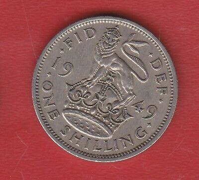 Great Britain 1 Shilling 1949
