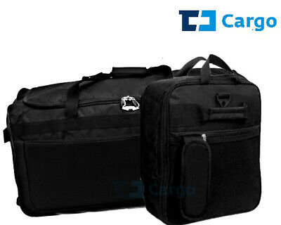 Extra Large Fold Away Wheeled Holdall Wide Body Travel Duffel Bag Compass Brand