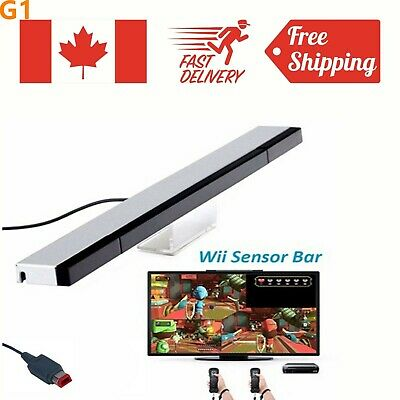 New Wired Remote Sensor Bar Infrared Ray Inductor For Nintendo Wii Controller