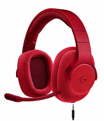 Logitech G433 Rot Kopfbügel Headset für Multi-Plattform (PC, PS4, Switch, Xbox)