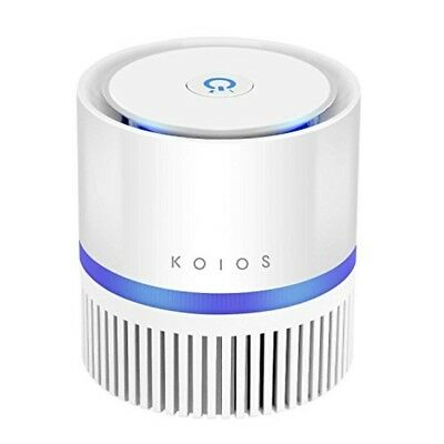 Koios Air Purifier, Desktop Air Filtration with True HEPA Filter, Compact Home A