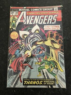 The Avengers No. 125 (1974) In Very Good Condition