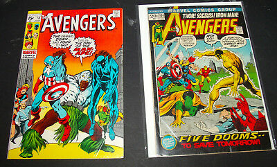 the AVENGERS vol.1 #78 and 101 lot