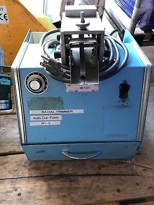 HEPCO 1500-1 Radial Lead Trimmer Trimming Machine