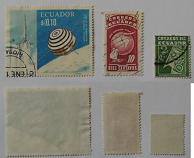 Lot Ecuador Briefmarken