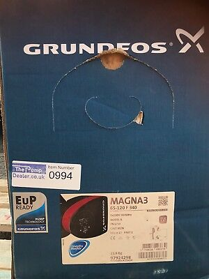 Grundfos MAGNA3 65-120F 97924298 (340) Variable Speed Pump Circulator 240V #994