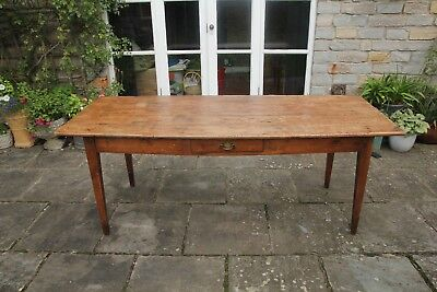 Antique Irish refectory dining table