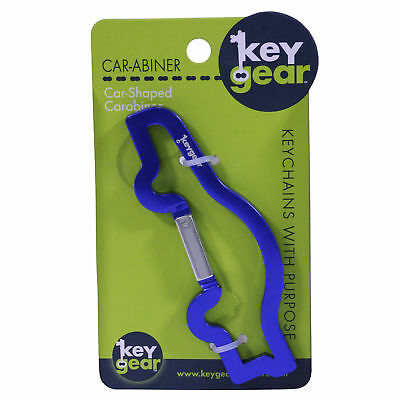 ULTIMATE SURVIVAL TECHNOLOGIES 50-KEY0105-00  Car-Abiner, Blue