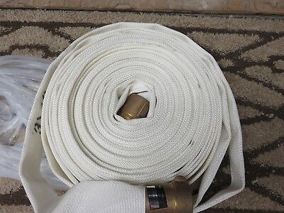 """75' 1 1/2"""" Nst Fire Hose Un-Used Perfect Condition"""