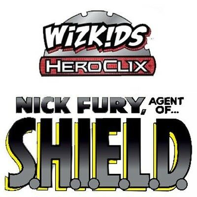 Marvel Heroclix Nick Fury Agent of Shield Booster Case