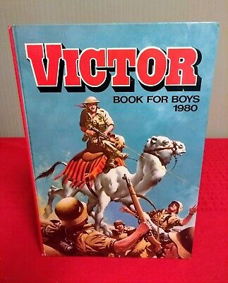 Victor Book for Boys 1980 Annual, good condition