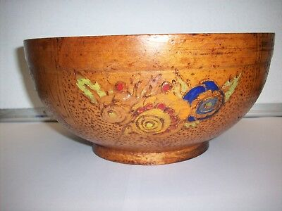 Old Wooden Bowl.