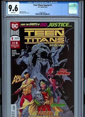 Teen Titans Special #1 CGC 9.6 (DC August, 2018) First cameo of CRUSH LOBO