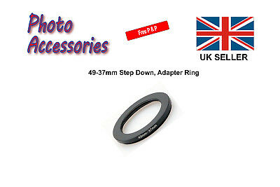 49mm-37mm Step Down Stepping Down Filter Ring Adapter