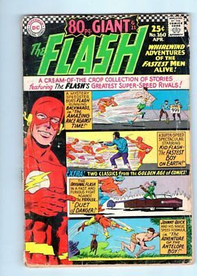 The Flash #160 80 Page Giant G.A. Flash Appearance DC SILVER AGE