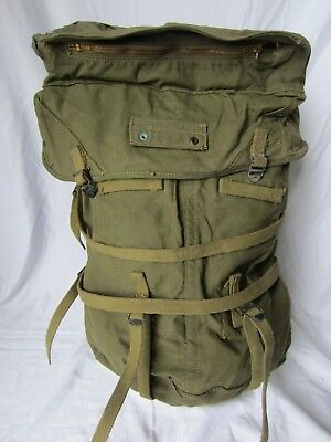 VERY NICE 1943 Dated WW2 US Military Jungle Pack Backpack Army USMC