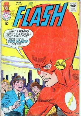 The Flash #177  Trickster Appearance-Silver Age Dc-No Reserve