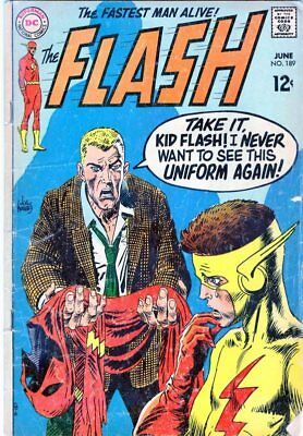 The Flash #189 HUGE DC SILVER AGE COLLECTION No Reserve