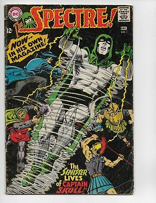Spectre 1 - G/vg 3.0 - Early Silver Age Appearance (1967)