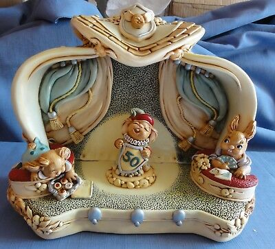 Pendelfin JUBILEE THEATRE MADE IN ENGLAND 50Th Anniversary piece