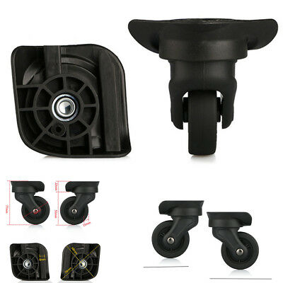 Luggage 360 Spinner Wheel Replacement Black Suitcase Swivel Caster Repair Kit