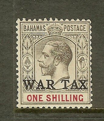 Bahamas, Scott #MR4, 1sh War Tax Issue, MLH