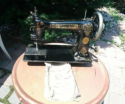 Rare Singer 9W Sewing Machine Wheeler-Wilson Transition Piece Parts Repair