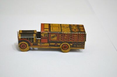 """Cracker Jack toy truck prize toy cracker jack toy truck 1930's approx 1 3/4"""""""