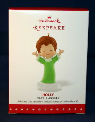 Hallmark Ornament 2015 Holly--  Mary's Angels  # 28 In The Series