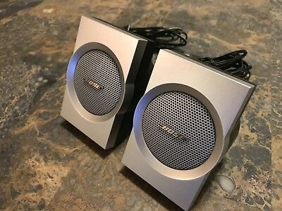 Bose Companion 3 Series II Computer Multimedia Speaker's