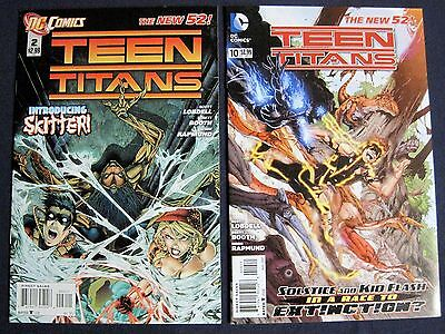 NEW 52 TEEN TITANS Lot of 2 #2 & 10