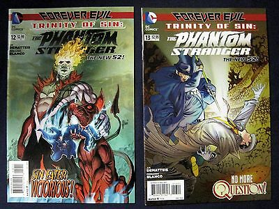 NEW 52 Trinity of SIN PHANTOM STRANGER Lot 12 & 13 (FOREVER EVIL tie-in)