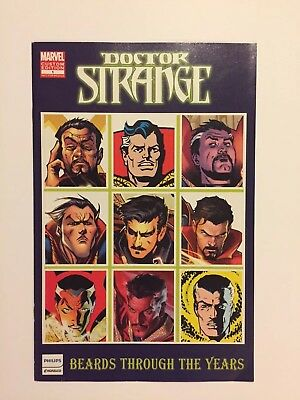 Doctor Strange Beards through the ages. SDCC exclusive!!! Beautiful Copy!