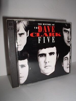 History of the Dave Clark Five by The Dave Clark Five (CD, Aug-1993,2 Discs)