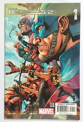 marvel The Ultimates 2 #1 Feb 2005 1st print key issue avengers mcu comic book
