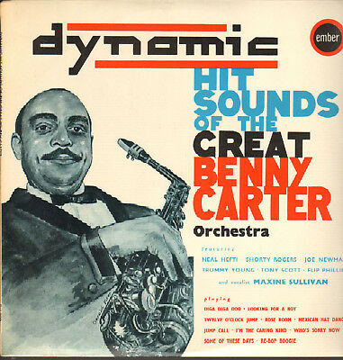 Dynamic Hit Sounds Of The Great Benny Carter-Lp- Maxine Sullivan-Ember-Uk-1963