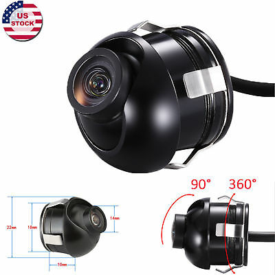 HD Sony CCD 360 Degree Rotatable Multifunction Car Front/Side/Rear View Camera