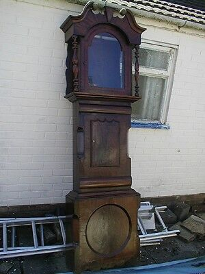 Bargain Superb Mahogany 8 Day Longcase Just £120 Comes With Dial