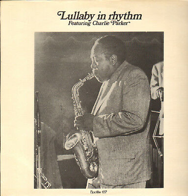 CHARLIE PARKER-LP- LULLABY IN RHYTHM-H.McGHEE- H.HAWES- RARE SPOTLITE- 1970-MINT